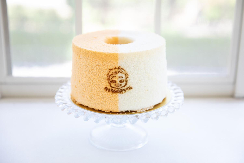 ケーキ 型紙 シフォン